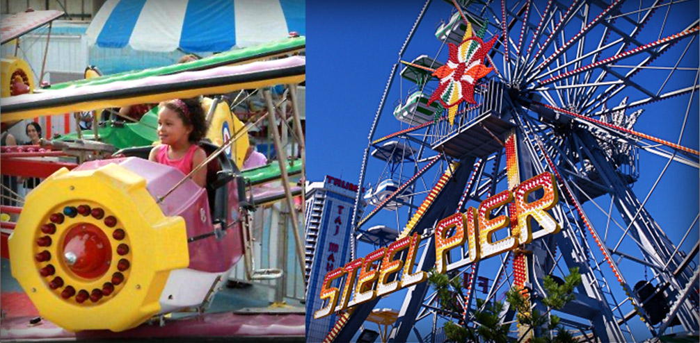 Steel Pier Rides